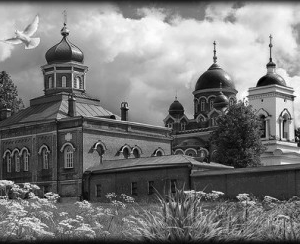 Храм 11 - Гравировка храма на памятнике, производство и доставка по РФ