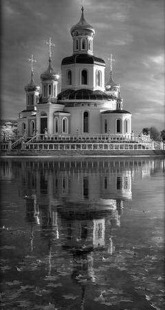 Храм 3 - Гравировка храма на памятнике, производство и доставка по РФ