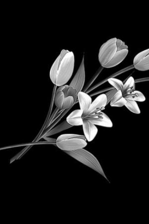 Цветок 18 - Гравировка цветка на памятнике, производство и доставка по РФ