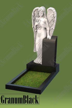 Памятник а-10 с ангелом