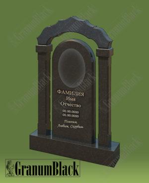 Памятник премиум с аркой 13