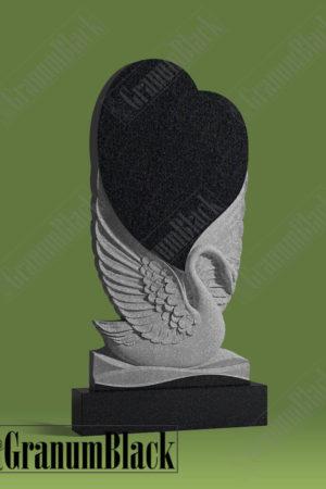 Памятник л-4 с лебедем