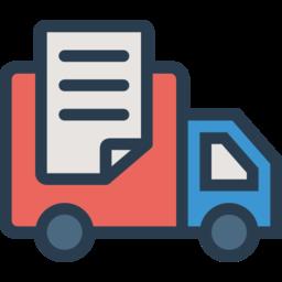 Отправка транспортной компанией груза до адреса заказчика